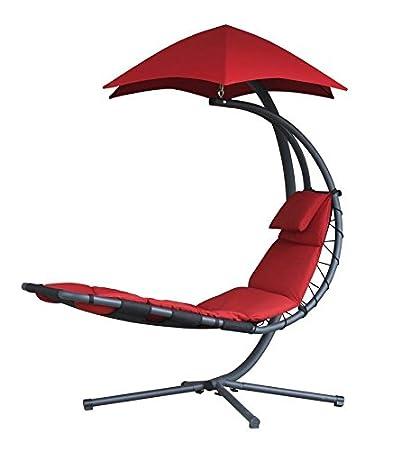 Amazon.com: Tumbona suspendida con paraguas para silla de ...