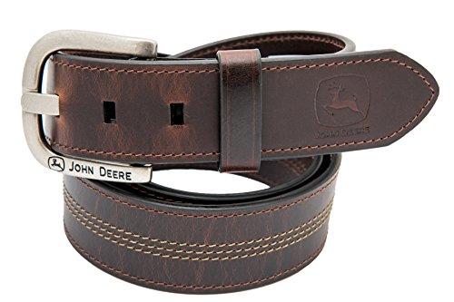 John Deere Men's 35mm Belt,Brown,44