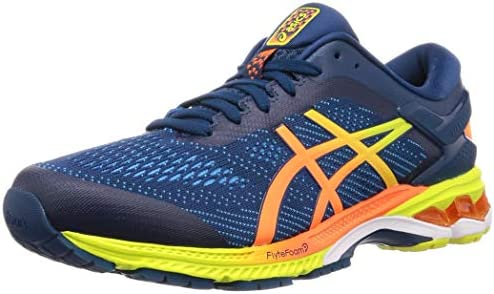Malentendido álbum de recortes Desilusión  Asics Gel-kayano 26 Running Shoes 10.5 D(M) US Mako Blue Sour Yuzu: Buy  Online at Best Price in UAE - Amazon.ae