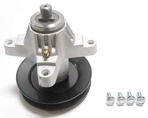 - Spindle Assembly - WITH 4 SCREWS AND TAPPED for Cub Cadet 618-04125 / 618-04126 / 618-04126A / 918-04125A / 918-04125B / 918-04126 / 918-04126A