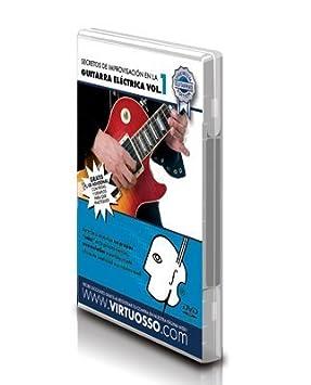 Amazon.com: Virtuosso Electric Guitar Improvisation Method Vol.1 (Curso De Improvisación Guitarra Eléctrica Vol.1) SPANISH ONLY: Musical Instruments