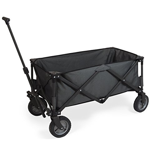 (ONIVA - a Picnic Time brand Collapsible Adventure Wagon, Dark Grey)
