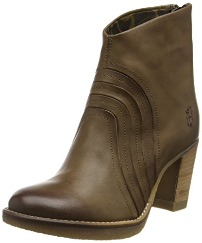 FLY London Hula776fly, Botines para Mujer Beige (Taupe 003)