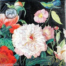 Blossom Napkin - Michel Design Works 20-Count 3-Ply Paper Cocktail Napkins, Peony Blossom