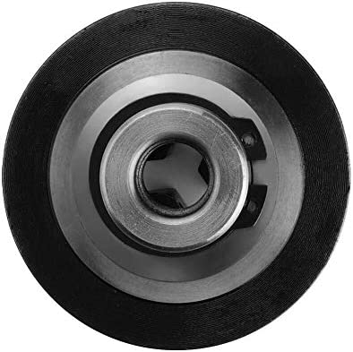 LIZANAN Drill Lathe Chuck, K01-63 3-Jaw Chuck Reversible Self-Centering Thread Mount Lathe Manual Chuck Metal Lathe Chuck Diameter 63mm + 2 x Lock Rods Lathe