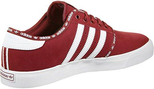 adidas SEELEY - Zapatillas deportivas para Hombre, Rojo - (ROJMIS/FTWBLA/FTWBLA) 41 1/3
