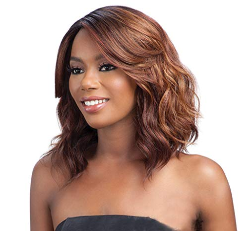 Hair Short Bob Brazilian Glueless Silky Straight Wigs for Black Women Natural 13.7 Inch Density None Human Hair None Lace Front Wig (a) -