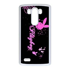 LG G3 Phone Cases White Playboy EXS572527