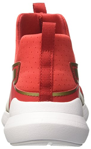 02 Sneakers puma Puma Rouge Mid Basses WNS Gold Red Team Femme Summer High Rebel Risk Pwx4wIZqS6