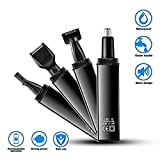 4 In 1 Electronic Nose Ear Hair Trimmer for Men Women, Painless Trimming, Water Resistant Dual Edge Blades (AY315B)