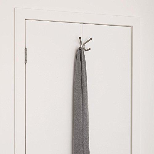 Umbra Brella 4-Hook Over-The-Door Hook, Nickel by Umbra (Image #1)
