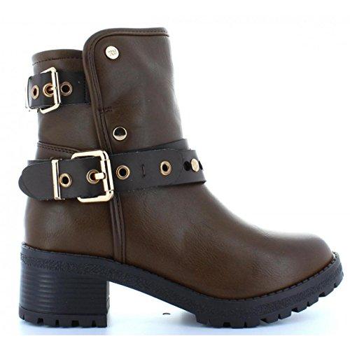 Stiefel für Damen XTI 28543 C MARRON