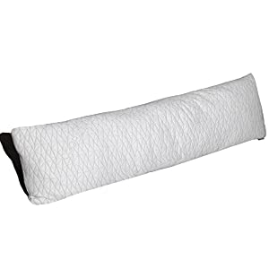 Coop Home Goods –Total Body Maternity Pillow with Adjustable Shredded Memory Foam – Perfect for pregnancy, nursing, and snuggling-Washable-20x54- Bamboo Derived Viscose Rayon and Polyester Blend Cover
