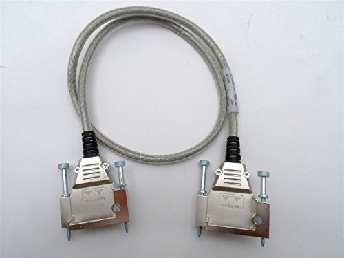 1 Meter Cab Stack (Generic Brand for Cisco CAB-STACK-1M= Stackwise 1 Meter Catalyst Stacking Cable 72-2633-01 Rev A0)