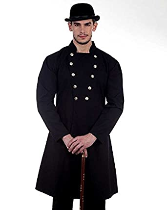 Men's Steampunk Jackets, Coats & Suits Steampunk Victorian Costume Gentlemans Coat  AT vintagedancer.com