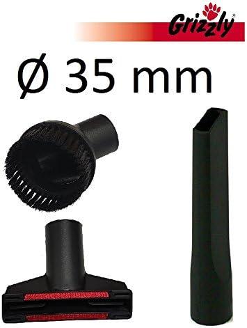 Grizzly Tools Juego de 3 Ventosa Juego de boquillas para Stihl Aspiradora, Taller Aspiradora Aspiradora en seco y húmedo, Adecuado para Acolchado, Alfombras, Taller y Auto.: Amazon.es: Hogar