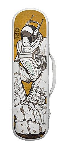 Skatebax - Skateboard Tasche Rucksack Backpack - Lederdruck -