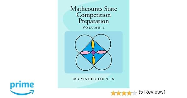 Amazon.com: Mathcounts State Competition Preparation Volume 1 ...