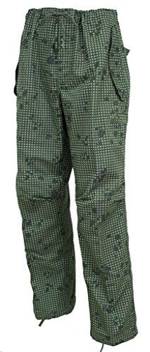 Trousers Camo Desert - U.S. Government Contractor Night Desert Pants - Military Issue - Night Desert Camo Trousers (Medium Short)