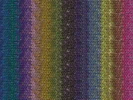Noro Silk 10 Garden - Noro Silk Garden Yarn (301 Royal, Purple, Fuschia, Lime)