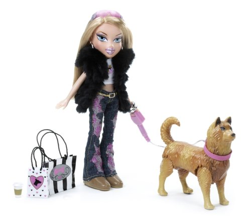 MGA Bratz Special Feature Walking Doll, Cloe (Baby Chou Chou Mommy Make Me Better)