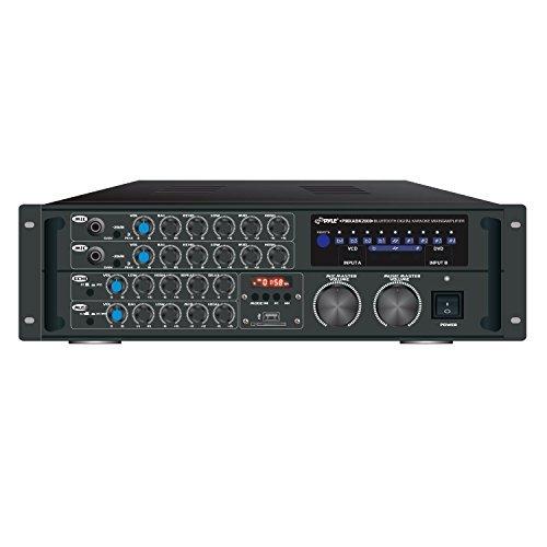 (Pyle PRO PMXAKB2000 2000-Watt Bluetooth(R) Karaoke Amp)