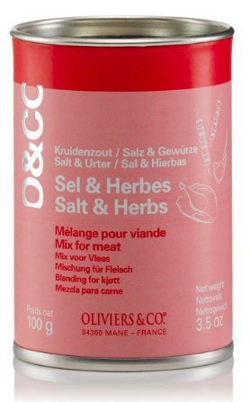 Oliviers & Co Salt & Herb Mix for Meat by Oliviers & Co