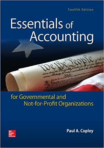 Essentials of accounting for governmental and not for profit essentials of accounting for governmental and not for profit organizations 12th edition fandeluxe Images