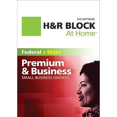 H&R Block At Home 2011 Premium & Business