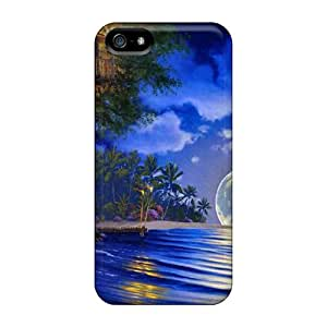 New Fashionable CaroleSignorile MyU41257vNOM Covers Cases Specially Made For Iphone 5/5s(fantasy Landscape)