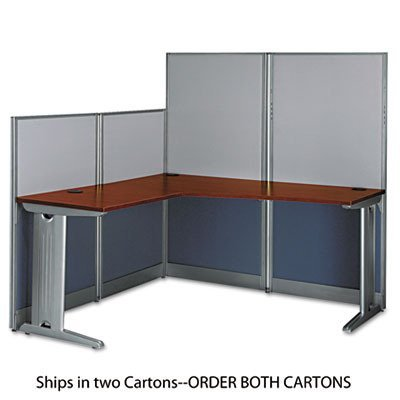 (BSHWC36494A203 - Bush L-Workstation Box 2 of 2 Office-in-an-Hour)
