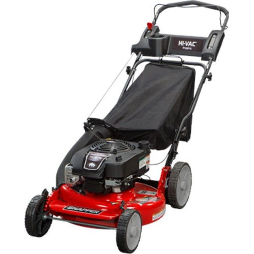 Snapper 2185020 / 7800979 HI VAC 190cc 3-N-1 Push Lawn Mower using 21-Inch Mower decks and ReadyStart System and 7 Position Height-of-Cut Cheap For Now