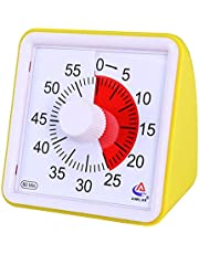 AIMILAR 60 Minute Visual Timer - Silent Timer Time Management Tool for Classroom or Meeting Countdown Clock for Kids and Adults