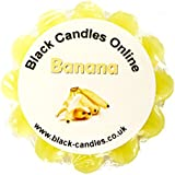 Black Candles Wax Tart Melt - Banana Fragrance by Black Candles Online