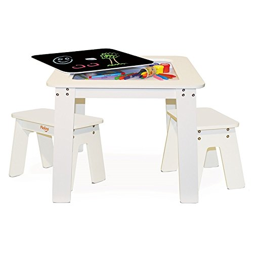 P'kolino Chalk Table and Benches by P'Kolino