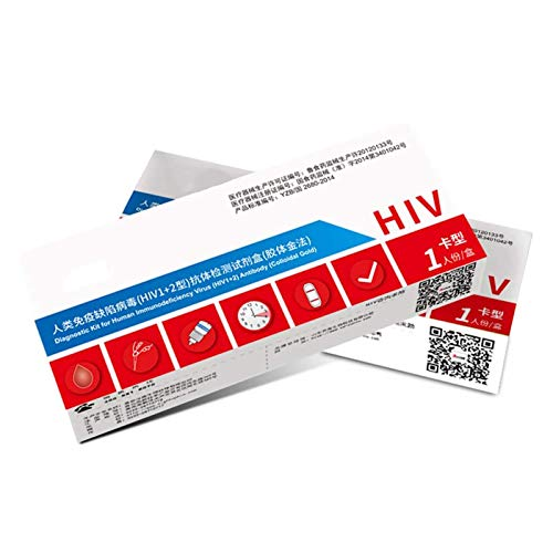 MWY HIV Tester Self Test Kit Blood Analysis at, Home HIV Test Self Detection of Human Immunodeficiency Virus,Blood
