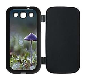 Best-Diy Custom Mushroom Bokeh Flip case cover Protector For Samsung Otz55KTT9yR Galaxy S3 I9300