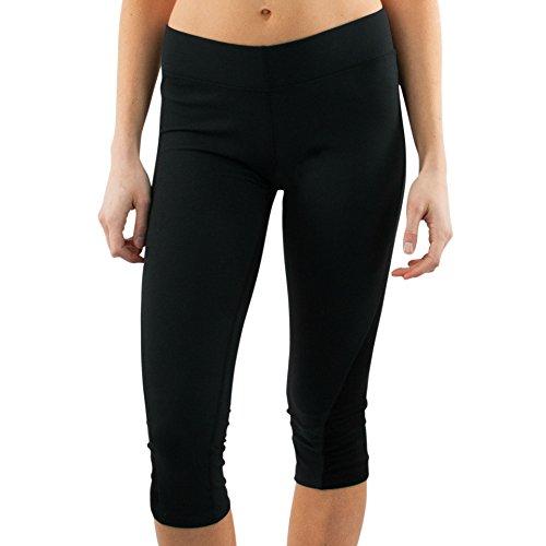 WoolX X351 Womens Perfect Capris - Black - 2XL