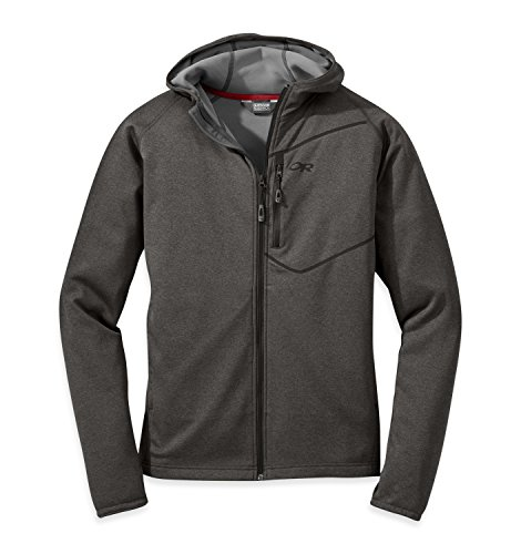 Outdoor Research Men's Starfire Hoody, Charcoal, Large