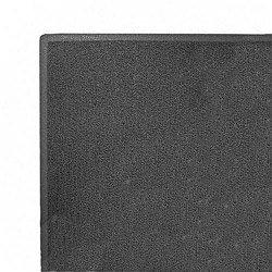 - 3M 34843 Dirt Stop Scraper Mat, Polypropylene, 48 x 72, Slate Gray