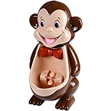 Boys Cute Monkey Potty Training Urinal with Funny Aiming Target Windmill by mkool