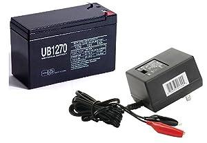 12V 7AH Battery for Aqua-Vu AV360LCD Under Water Camera WITH CHARGER