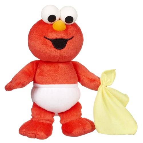 Playskool Sesame Street Baby Sniffles Elmo (Sesame Street Elmo Plush Beanbag Character 6 Inch)