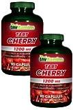 TNVitamins Tart Cherry Extract 1200 Mg (2x90 Capsules)