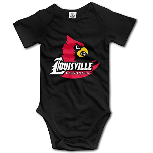 Price comparison product image OOKOO Baby's University Of Louisville Bodysuits Black 6 M