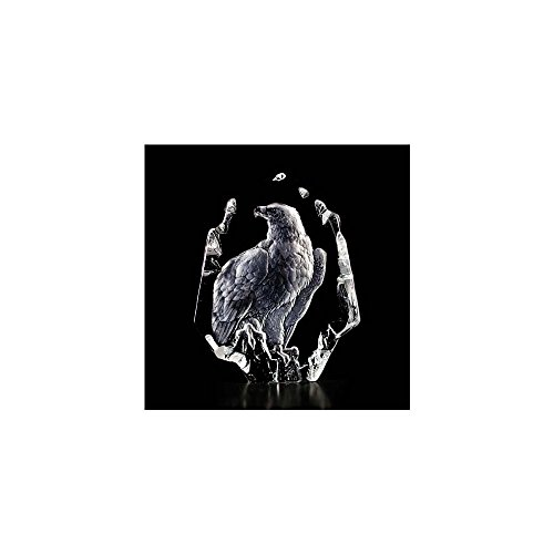 Mats Jonasson Eagle Crystal Sculpture MAT33351