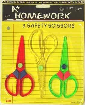 Scissors School Safety 3 pack Case Pack 96