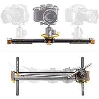 TARION Camera Slider 20 Track Slider 35 ° Rotation Slider Rail for DSLR Canon Sony Nikon Load Up to 4KG Track Slider Rail System