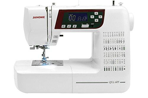 Janome QXL605 Sewing Machine c/w JQ2 Quilt Kit