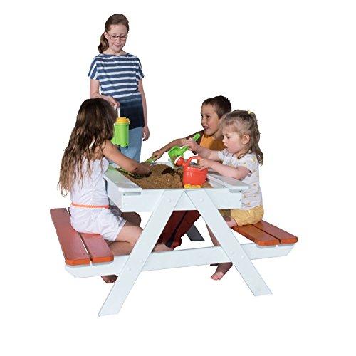 Trigano Kindersitzgruppe Picknicktisch inkl. Sandkasten